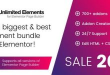Unlimited Elements for Elementor Premium v1.4.65 破解版-学课SEO