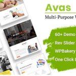 Avas v6.3.1.1破解版–多功能Elementor WordPress主题-学课技术网
