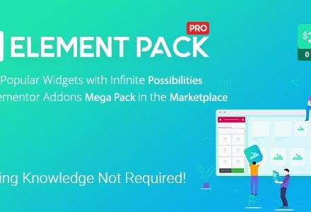 Element Pack v5.7.7破解版 – Elementor Page Builder WordPress插件的插件-学课SEO