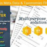 Wordpress Meta Data & Taxonomies Filter v2.2.8-学课技术网