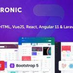 Metronic v8.0.28 – 管理仪表板模板-学课技术网